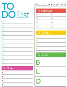 Here's a simple printable you can fill in and check right off. Check out our Daily To-Do List! #freeprintable #imom #momlife