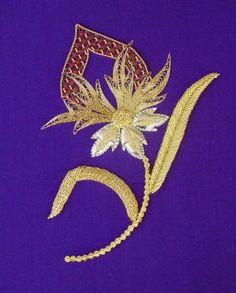 Jacobean Filigree Flower