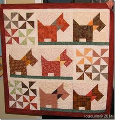Scottie Dogs quilt