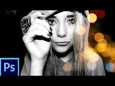 Tutorial Photoshop CS6: Efecto Fotografico Blanco Y Negro + Tonos Y Text...