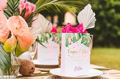'Tropical Paradise At Home' Bright And Colourful Party and Wedding Inspiration for Smaller Gatherings Tropical Party, Colorful Party, Tropical Paradise, Slumber Parties, Time To Celebrate, Baby Shower Themes, Birthday Party Themes, Boho Wedding, Wedding Blog