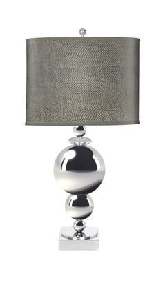 The gorgeous design of the Toluca lamp gives it a classic appearance, with transitional appeal.