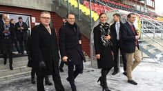 Crown Princess Victoria and Prince Daniel visited the Jämtland County located in the region of Norrland on March 4, 2015