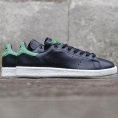 Fancy | Adidas Originals Stan Smith Boost Black