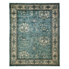 "Oushak Collection Oriental Rug, 9'6"" x 11'10"" 