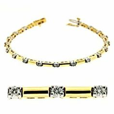 14K Two Tone Gold 1cttw Round Diamond Bracelet Jewelry Pot. $2514.99. 100% Satisfaction Guarantee. Questions? Call 866-923-4446. Fabulous Promotions and Discounts!. 30 Day Money Back Guarantee. Your item will be shipped the same or next weekday!. All Genuine Diamonds, Gemstones, Materials, and Precious Metals