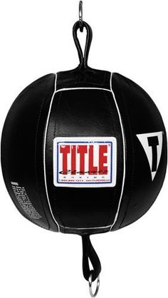 TITLE Classic Double End Bags, 5 by Title Boxing. $33.95. Quality, all-leather double end punching bags. Complete with 2 rubber cables and S-hooks for super fast action and rebounds. Heavy duty rubber bladder also included. Great for home or individual use - not recommended for gyms.