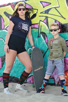 youngheartedsocks, venicebeach, skaterstyle