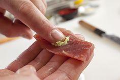 #wasabi #sushi Wasabi Sushi, Sea Bass, Tuna, Salmon, Fish, Meat, Pisces, Atlantic Salmon, Rockfish
