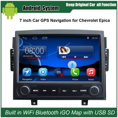 Upgraded Original Android Car Radio Player Suit to Chevrolet Epica 2006-2010 Car Video Player Built in WiFi GPS Bluetooth