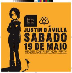 Flyer be space - Justin d'Avila