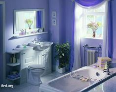 Blue Bath Color  Getting The Best Colors for Bathrooms Check more at http://www.showerremodels.org/4033/getting-the-best-colors-for-bathrooms.html