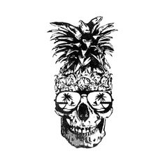 Check out this awesome 'Skull+Pineapple+Guam+671' design on @TeePublic! Animal Skull Tattoos, Sugar Skull Tattoos, Animal Skulls, Sugar Skulls, Pineapple Tattoo Meaning, Leo Tattoos, Body Art Tattoos, Tatoos, Guam Tattoo