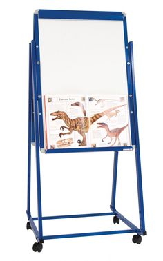 mobile display easel a mobile display easel with magnetic whiteboard surface which can be single - Whiteboard Easel