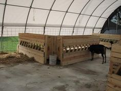 Anyone with pics/plans of large hay feeders? - The Goat Spot - Goat Forum