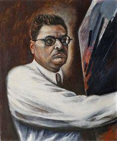 Jose Clemente Orozco. Painter. (Self-Portrait)