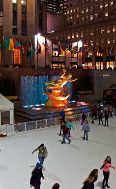 Rockefeller Center. New York, New York.