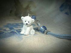 "Collana con orso polare: ""NANANNO"""