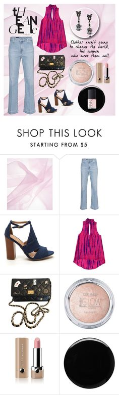 """""""Styling 101: Cropped Flared Jeans"""" by josehline on Polyvore featuring AG Adriano Goldschmied, Chanel, Marc Jacobs, Deborah Lippmann and NARS Cosmetics"""