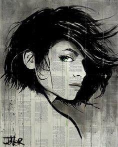 "Saatchi Art Artist LOUI JOVER; Drawing, ""tide"" #art"