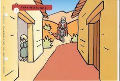 De legende van de Sint - Prent 1