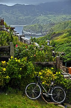 Batanes: I want see your simplicity by touring around with a bike. Philippines Destinations, Philippines Vacation, Philippines Culture, Visit Philippines, Oh The Places You'll Go, Places To Travel, Places To Visit, Travel Destinations, Wonderful Places