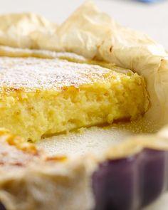 Rijsttaart Dutch Recipes, Sweet Recipes, Baking Recipes, Great Desserts, No Bake Desserts, Dessert Recipes, Belgian Food, Party Finger Foods, English Food