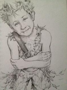 Peter Pan sketch II by TGB-illustrations.deviantart.com on @deviantART