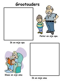 Ik en mijn opa - oma Christian Quotes, Kids And Parenting, Clip Art, Education, Comics, Reading, Baby, Google, Fle