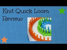 Review of the Knit Quick Loom - http://www.knittingstory.eu/review-of-the-knit-quick-loom/