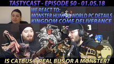 We REACT to Monster Hunter World PC Details and get hyped on Kingdom Com...