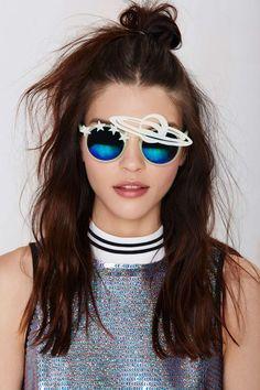 Rad & Refined Galaxy Glow in the Dark Shades Turban, Summer Sunglasses, Sports Sunglasses, Novelty Sunglasses, Ray Ban Sunglasses, Aviator Glasses, Eye Glasses, Accessories Shop, Fashion Accessories