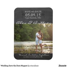 Shop Wedding Save the Date Magnet created by stacabase. Unique Save The Dates, Save The Date Photos, Wedding Save The Dates, Save The Date Cards, Save The Date Invitations, Wedding Invitation Cards, Wedding Cards, Real Estate Flyer Template, Save The Date Templates