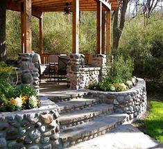 Rock walls/flowerbeds