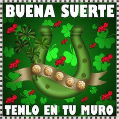 HOY LA BUENA SUERTE VIENE POR TI!!