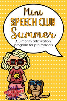 Summer school, or articulation homework? These no-prep articulation activities are perfect!