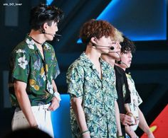 The Kim Family at Ulsan Summer Festival #EXO #KIM #JONGIN #JUNMYEON #JONGDAE #MINSEOK #KAI #SUHO #CHEN #XIUMIN #KOKOBOP