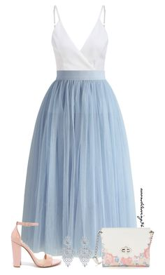 """""""Feeling Like a Princess"""" by avonsblessing94 ❤ liked on Polyvore featuring Chicwish, Candie's and Steve Madden"""
