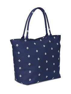Patterned Canvas Tote for Women Product Image