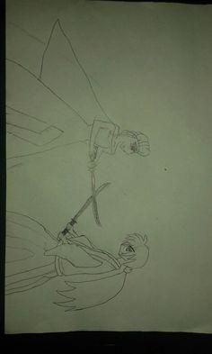 Queen Elsa vs Kenshin Himura