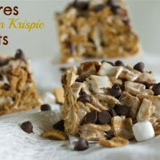 S'mores Graham Krispie Treats