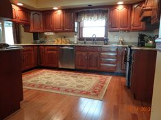 Hardwood Floors In Kitchen With Oak Cabinets Looking For Tips About  Woodworking? Http://www.woodesigner.net Has Them! | Wood Working |  Pinterest | Kitchen ...
