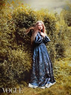 ♥ Romance of the Maiden ♥ couture gowns worthy of a fairytale -  Pre-Raphaelite Style photos from Italian Vogue
