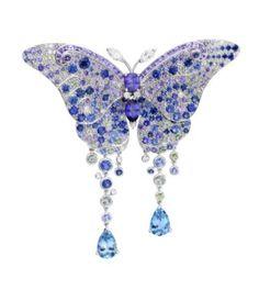 Van Cleef & Arpels Butterfly brooch ✿⊱╮