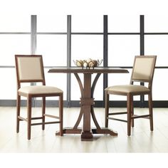 Oriental Express Furniture Traditions Dexter 26 in. Counter Stool - Set of 2 - SRI307