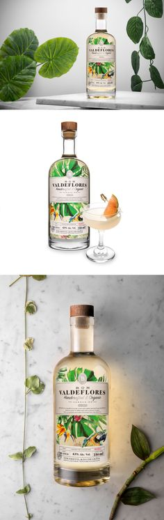Ron Valdeflores Will Help You Beat The Winter Blues With Its Tropical Packaging — The Dieline | Packaging & Branding Design & Innovation News