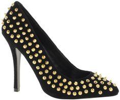 Steve Madden Intrud-S Stud Court Shoes
