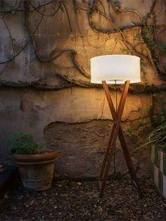 marset Stehleuchte Cala Outdoor Wood 140 IP65 kaufen im borono Online Shop