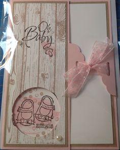 Slydam69.blogspot.com Stampin Up Babykarte mit Kleine ganz groß