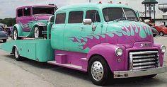 1948 COE GMC Car Hauler
